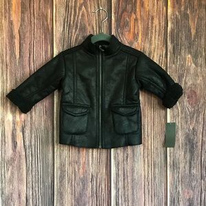 Kenneth Cole Sherpa Lined Jacket